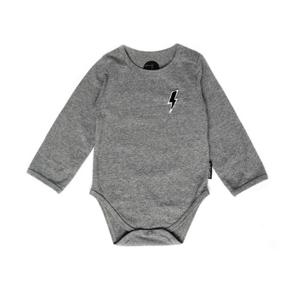 Sproet & Sprout - Grey Melange Romper - Little Gents Store