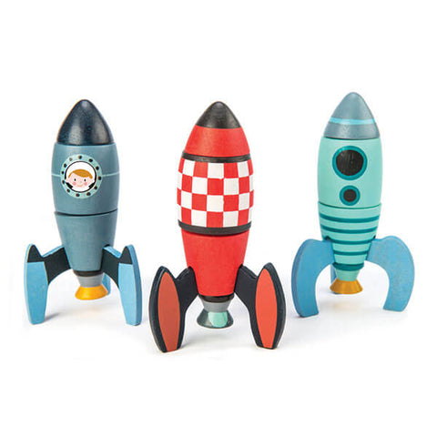 Tender Leaf Toys Rocket Construction