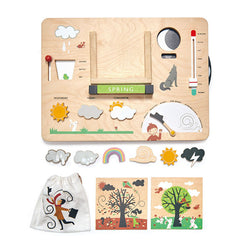 Tender Leaf Toys Weather Station whole set