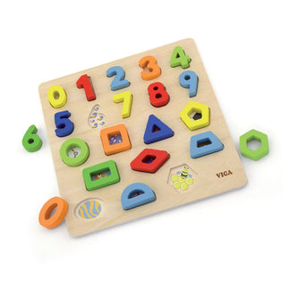 VIGA Block Puzzle Numbers & Shapes