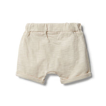 Wilson & Frenchy Birch Slouch Shorts back view