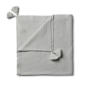 Wilson & Frenchy Cloud Grey Blanket