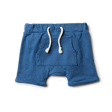 Wilson & Frenchy Deep Blue Slouch Short - Little Gents Store