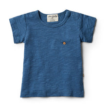 Wilson & Frenchy Deep Blue Tee - Little Gents Store