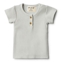 Wilson & Frenchy Glacier Grey Tee - Little Gents Store