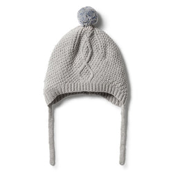 Wilson and Frenchy Knitted Cable Bonnet
