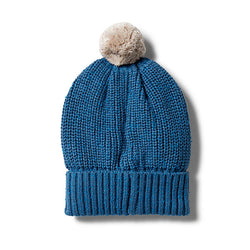Wilson and Frenchy Denim Knitted Beanie
