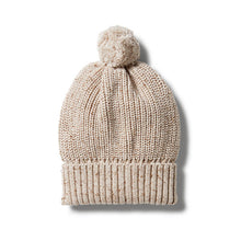 Wilson and Frenchy Oatmeal Knitted Beanie