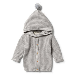 Wilson & Frenchy Grey Knitted Jacket