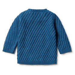 Wilson & Frenchy Knitted Jacquard Jumper back