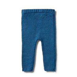 Wilson & Frenchy Denim Knitted Legging back
