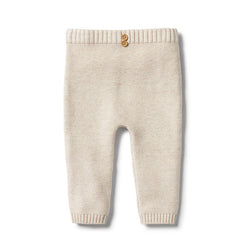Wilson & Frenchy White Knitted Legging