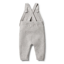 Wilson and Frenchy Grey Knitted Overall back