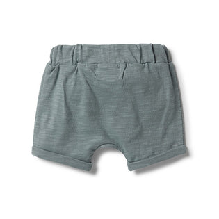Wilson & Frenchy Lead Slouch Shorts back view