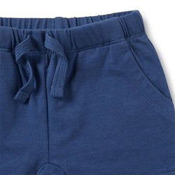 Wilson & Frenchy Navy Slouch Shorts - Little Gents Store