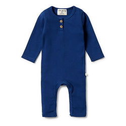 Wilson & Frenchy Rib Henley Growsuit