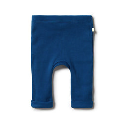 Wilson & Frenchy Navy Rib Leggings