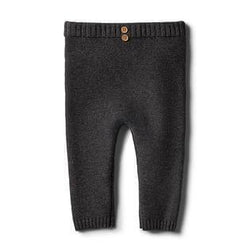 Wilson & Frenchy Storm Grey Knitted Legging