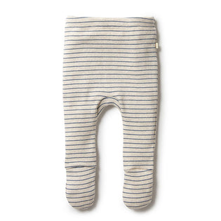 Wilson & Frenchy Denim Rib Footed Legging