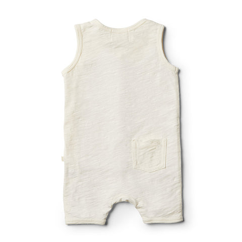 Wilson & Frenchy Whisper White Growsuit - Little Gents Store