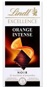 Lindt Excel. Orange 100g 20x3.50