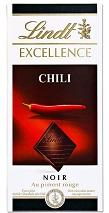 Lindt Excel. Chili 100g 20x3.50