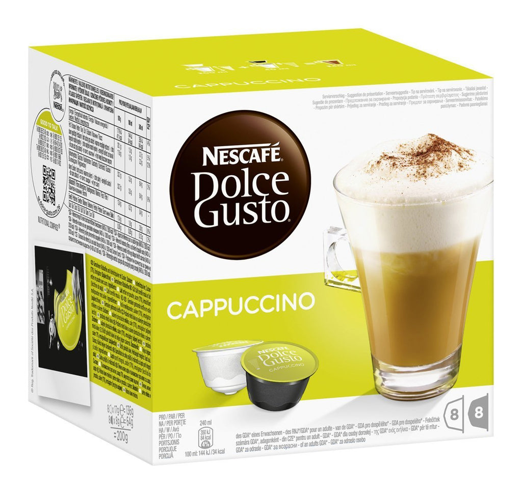 Dolce Gusto Cappuccino 200g 3X6.90