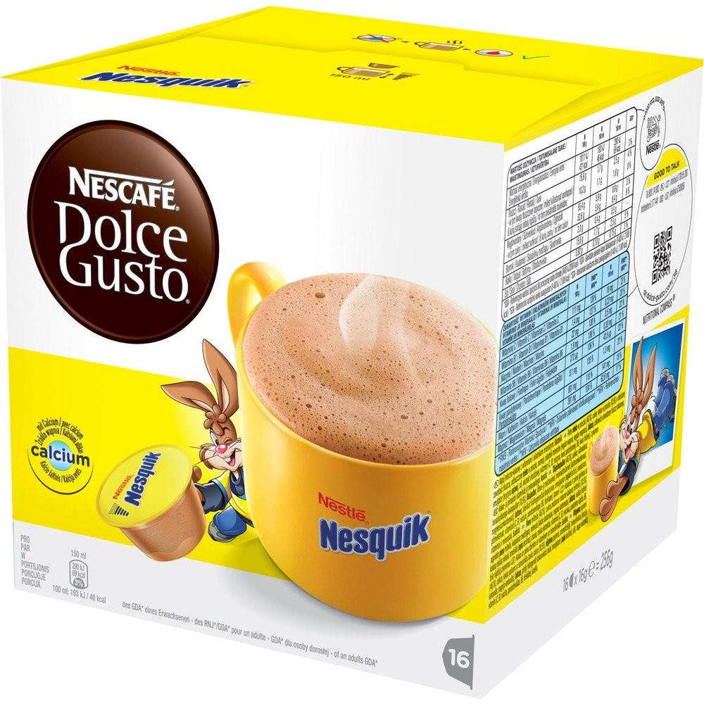 Dolce Gusto Nesquik 256g 3X6.90