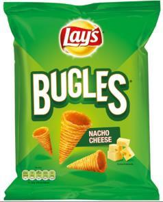 Bugles Nacho Cheese 100g 12x2.95