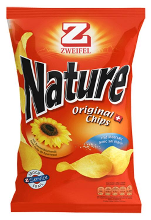 Chips Nature 100g 10X3.20