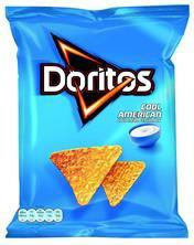 Doritos Sour Cream 125g 9X3.20