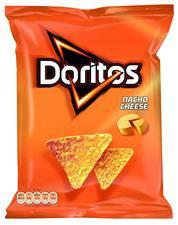 Doritos Nacho Cheese 125g 9X3.20