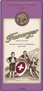 Avelines Tab. Heritage Noir Cassis 100g 12x2.60
