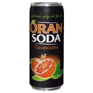 Soda Orange 330ml 24x1.20