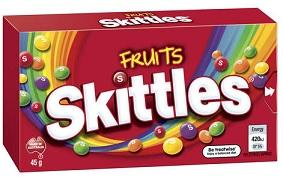 Skittles Fruit Box 45g 16x1.10