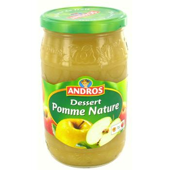 Andros comp. Pomme Nature 750g 6x3.50