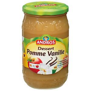 Andros comp. Pomme Vanille 750g 6x3.95