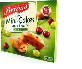5511 Brossard Mini Cake Fruit 300g 6x4.70