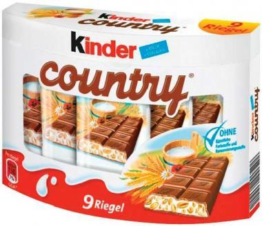 Kinder Country T9x24g 18x4.25