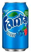 Fanta USA Berry 355ml 12x1.50