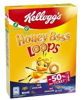 Kellogg's Honey LOOPS 375g 6x4.70