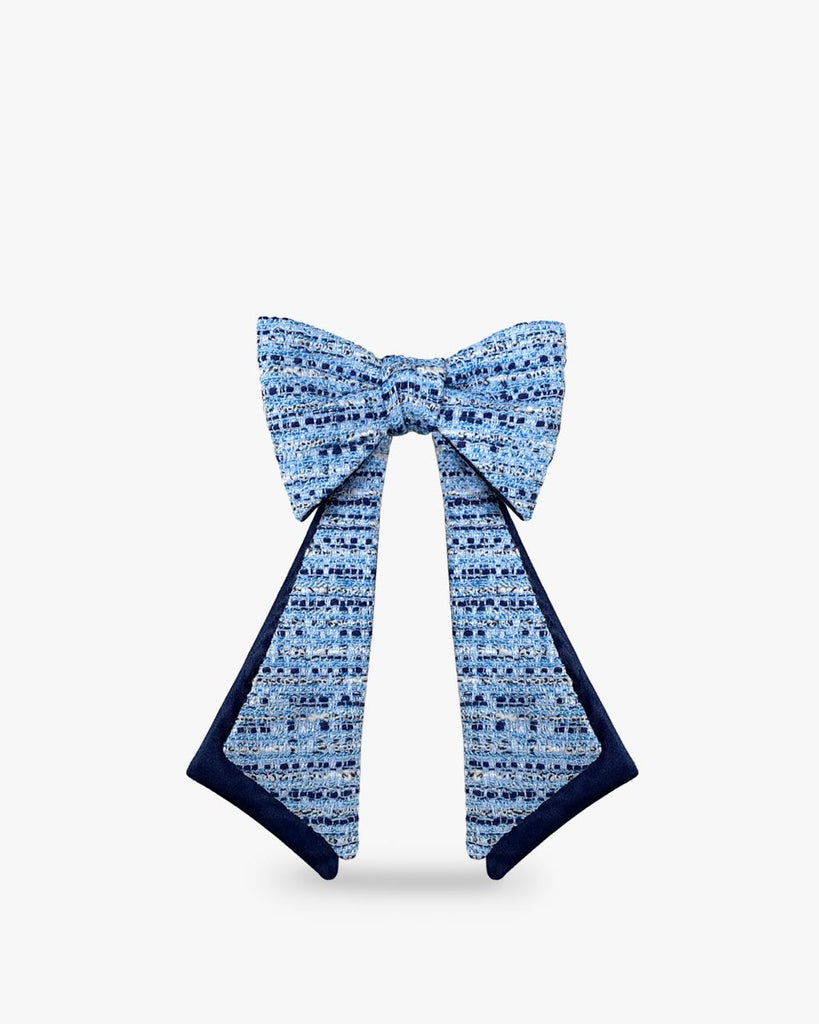 Noeud-papillon-lavalliere-tweed-bleu-femme-soie-luxe-BOLD_AND_BOW