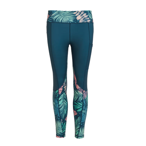 Tropical Gym Leggings - PerkyPeach
