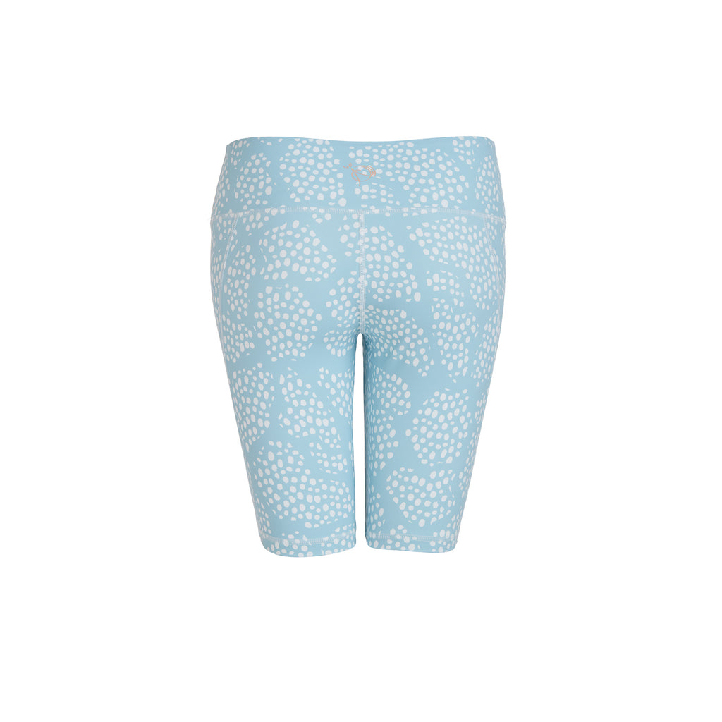 Blue Dotty Cycling Shorts - PerkyPeach