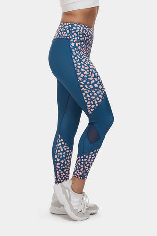 Leopard Print Gym Leggings - PerkyPeach