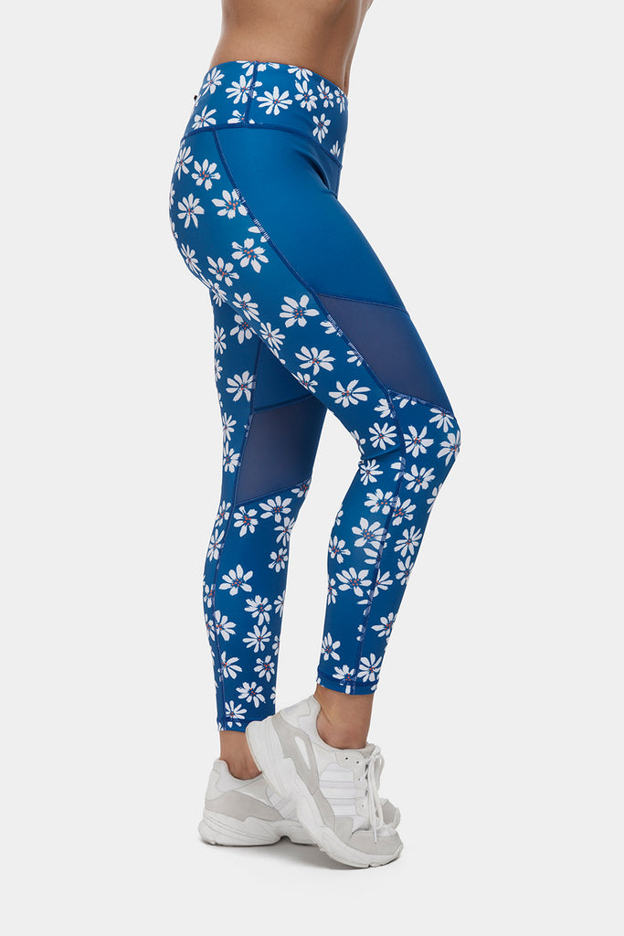 Daisy Gym Leggings - PerkyPeach