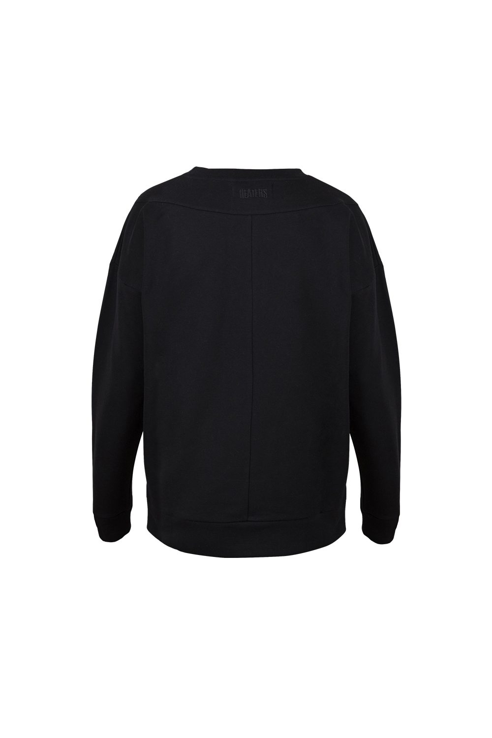 DROPPED SWEATER BLACK
