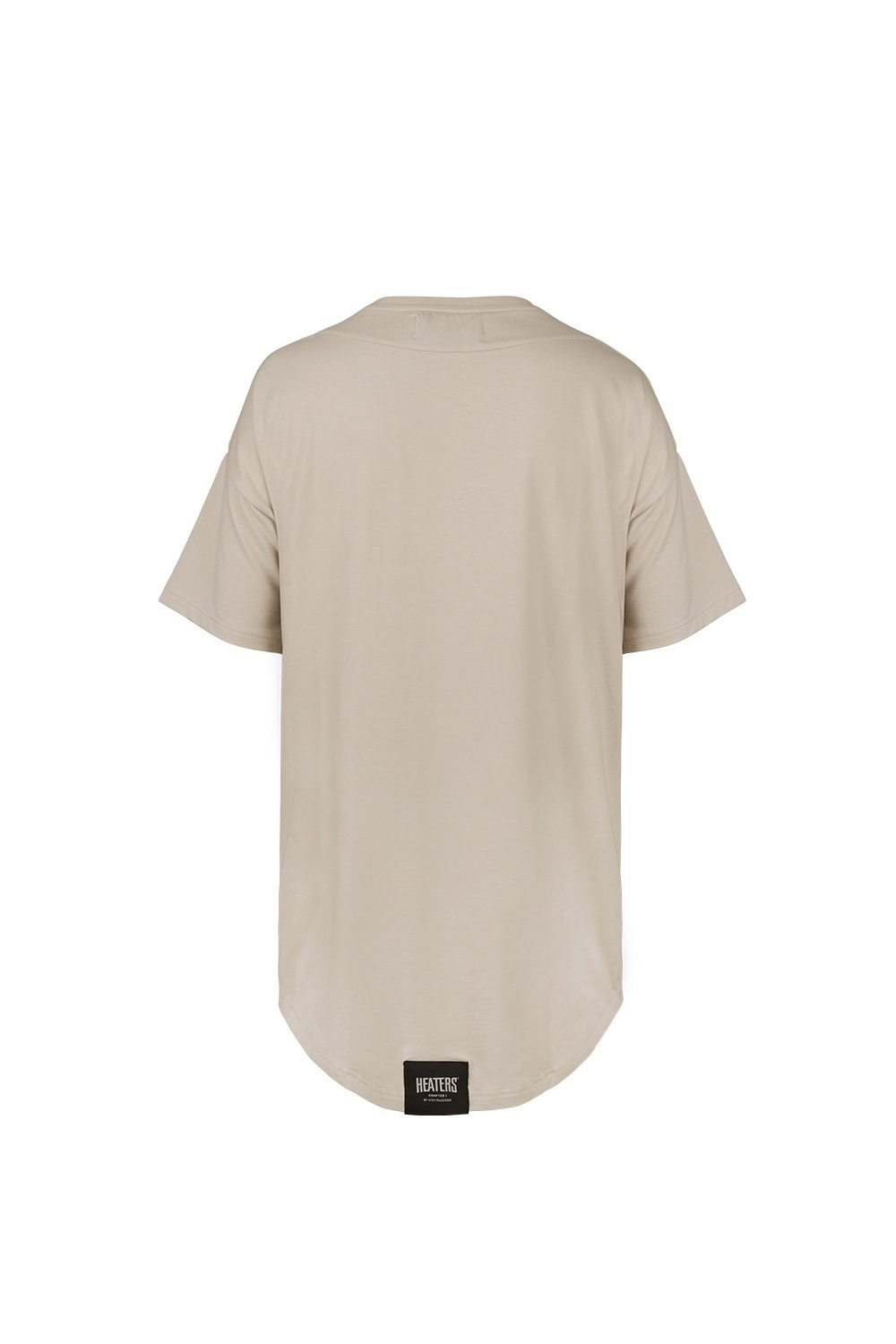 OVERSIZED HEAVY TEE LIGHT TAUPE