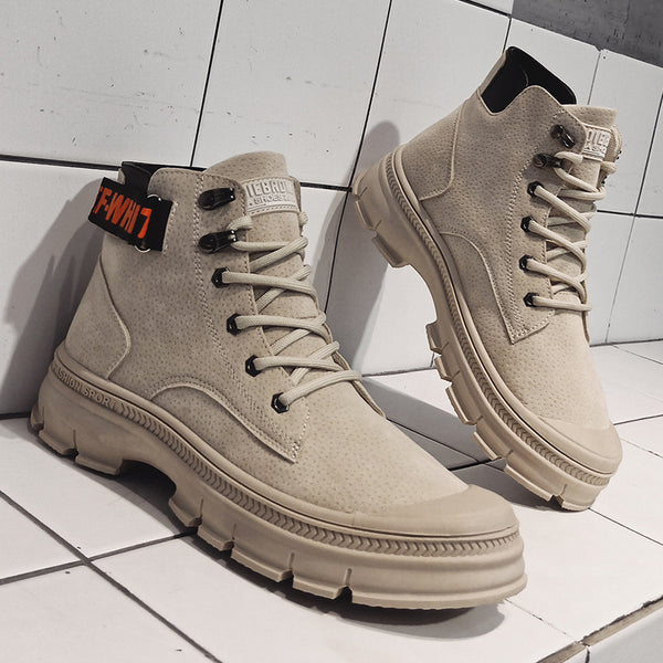 Classic leather boots casual shoes L-K906