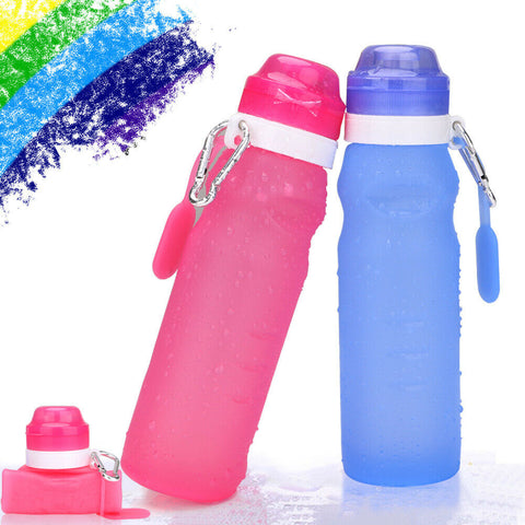 400ML Silicone Folding Water